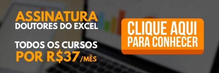 Fórmulas do Excel