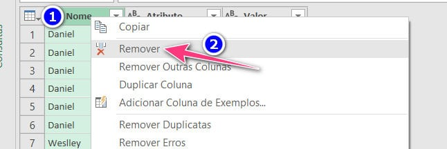 ETAPAS APLICADAS Power Query 02