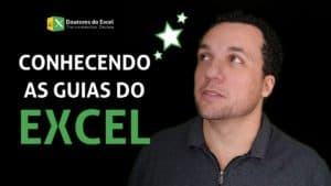 Conhecendo as guias do Excel