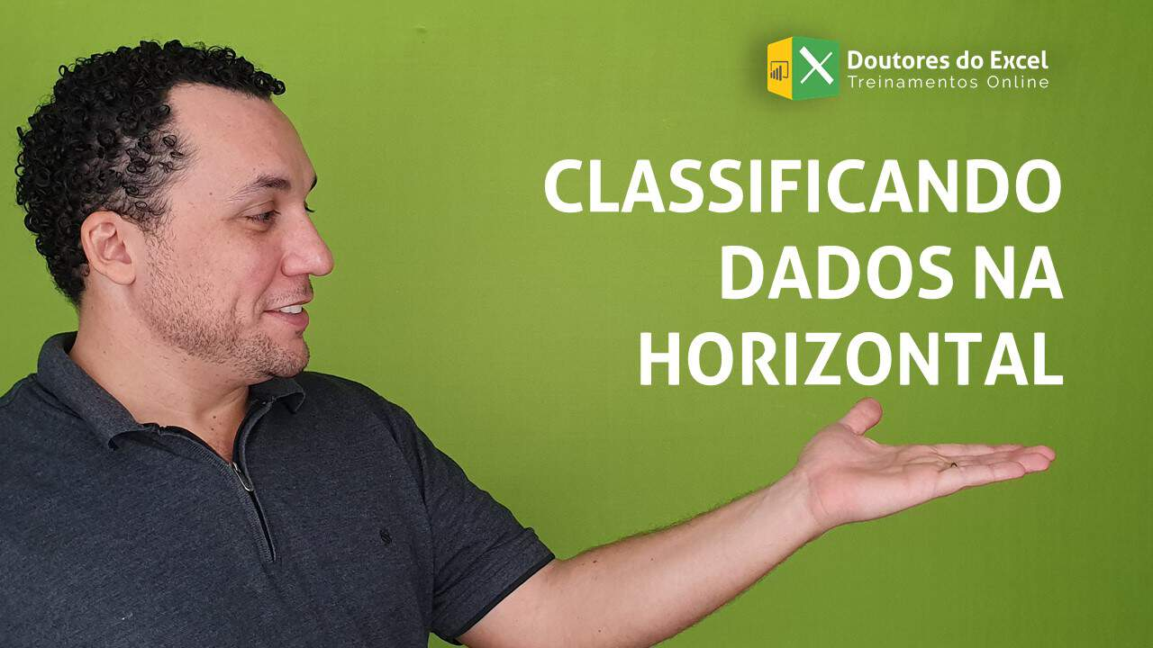 Classificando dados na horizontal